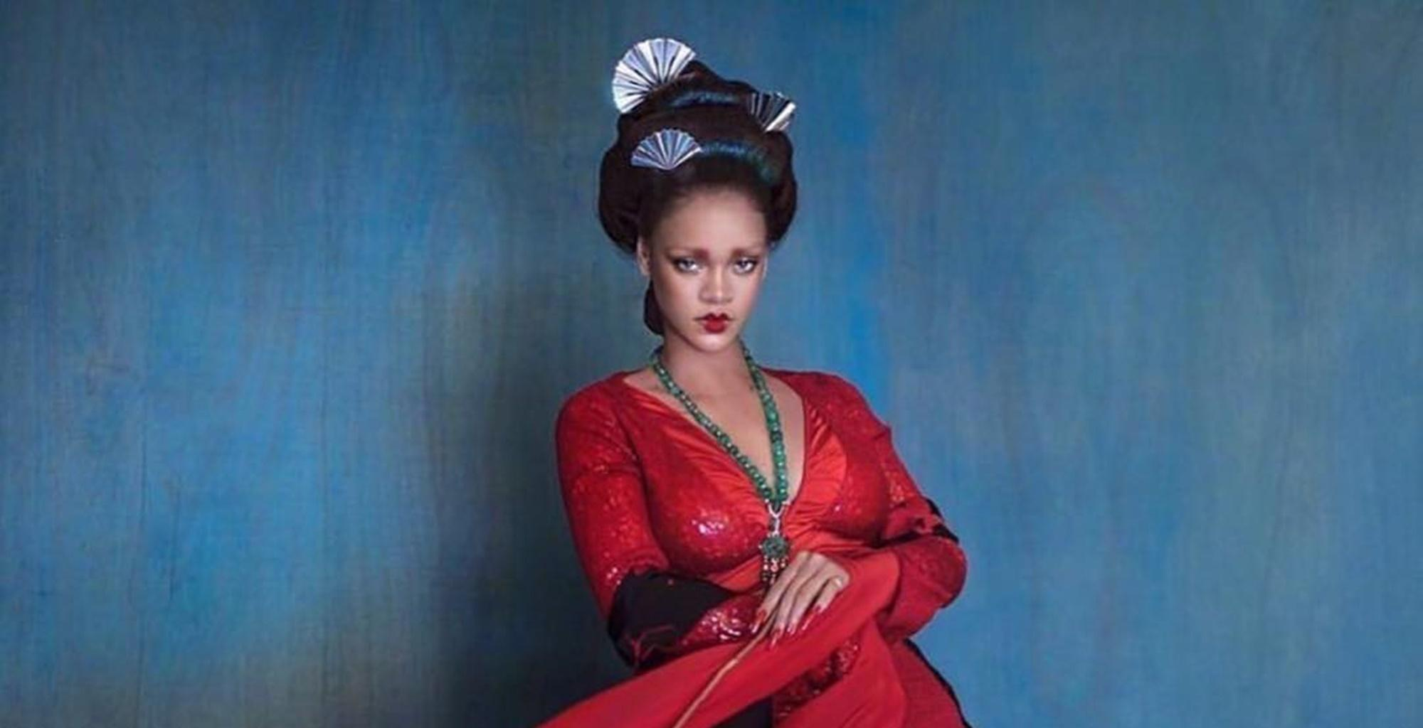 Rihanna Looks Like A Real-Life Painting In New Photos, Critics See Cultural Appropriation -- Did Hassan Jameel's GF Do Something Wrong?