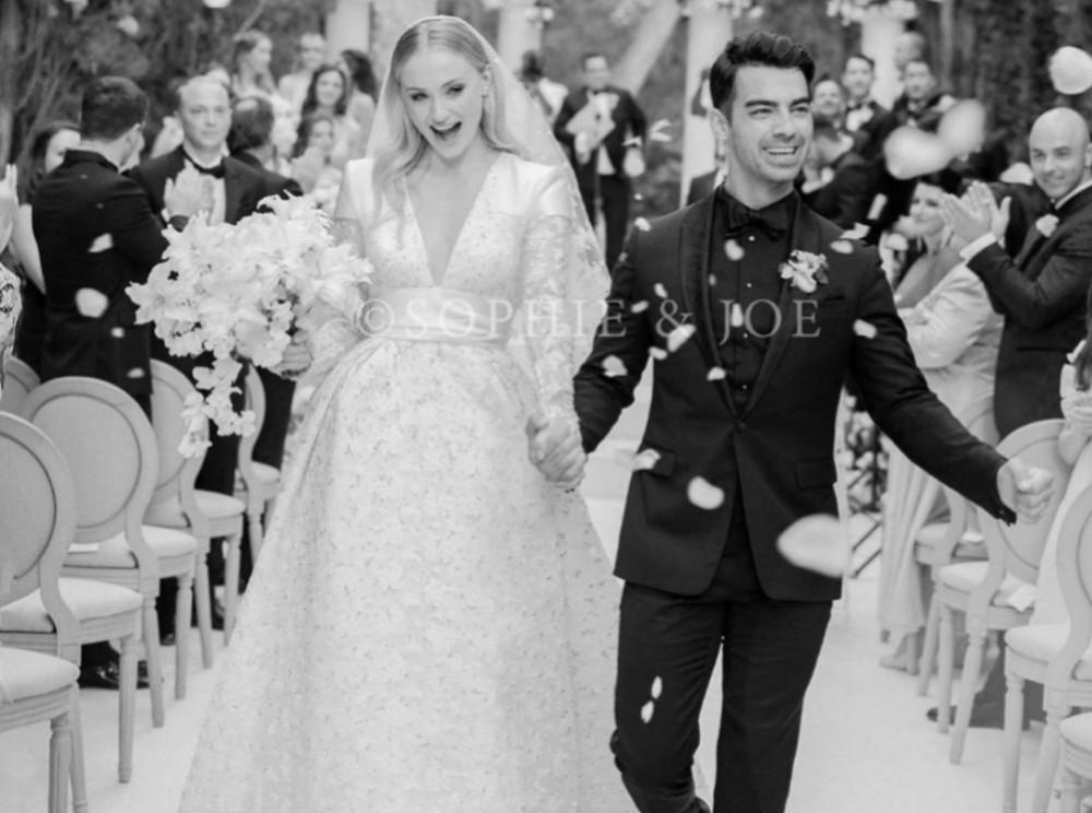 Sophie Turner Is An Exquisite Bride In Louis Vuitton Wedding Gown — See The Gorgeous Photos