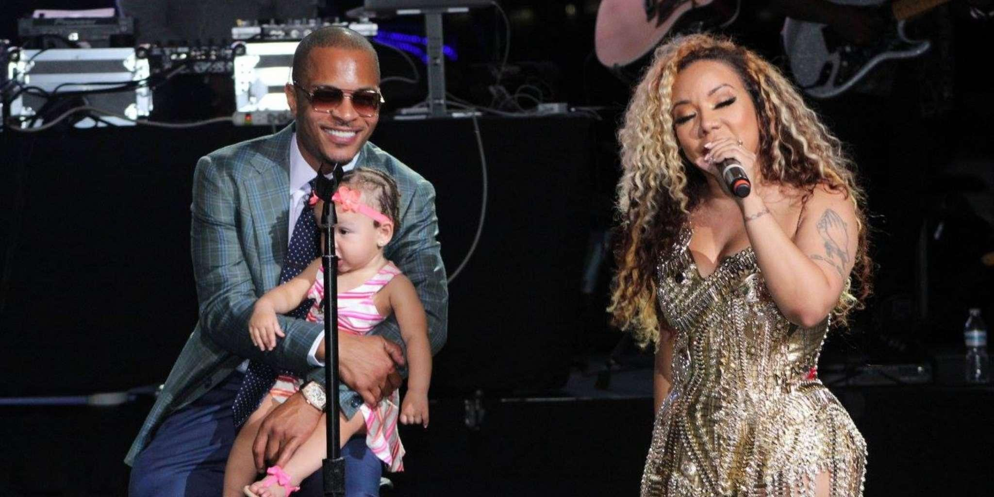T.I. And Tiny Harris Have The Best Time In Barcelona - Check Out Tiny Riding Her Bike (Videos)
