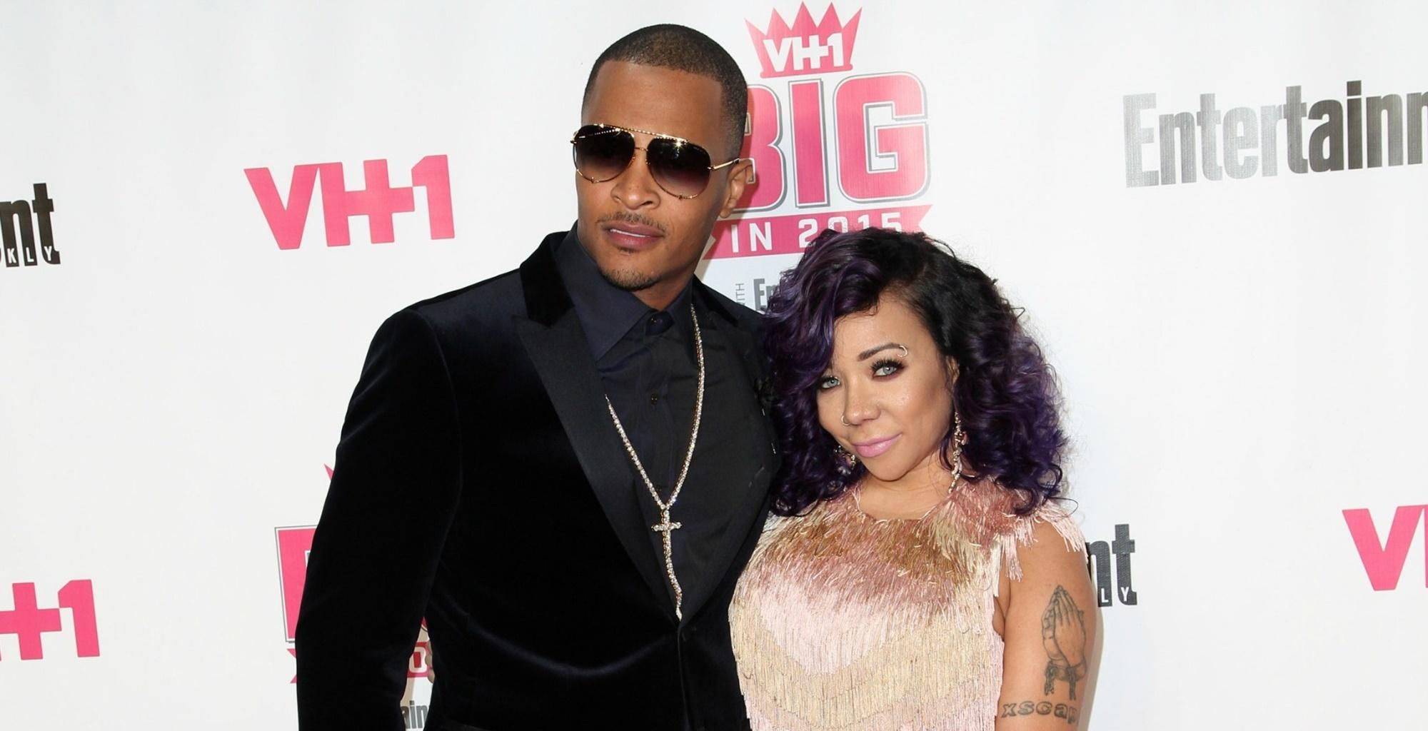 Tiny Harris Cannot Keep Her Hands Off Husband T.I. -- Power Couple Shows Their Futuristic Fashion Sense -- Will Deyjah Harris And Zonnique Pullins Approve The Style?