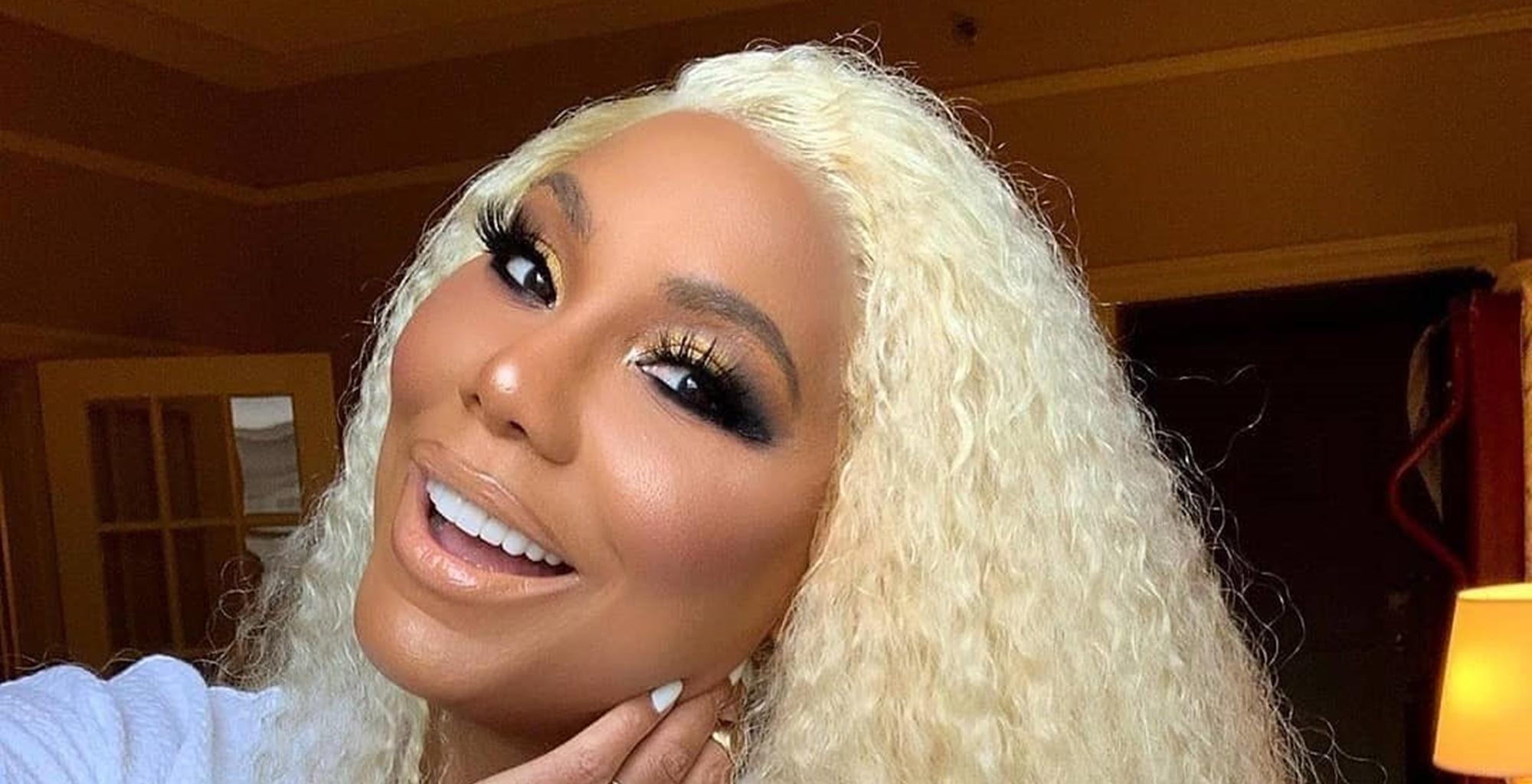 Tamar Braxton Debuts Gorgeous Rainbow Hair And Flaunts Jewelry From Boyfriend David Adefeso In New Pictures -- Some See A Spark In Her Eyes When She Is With Him