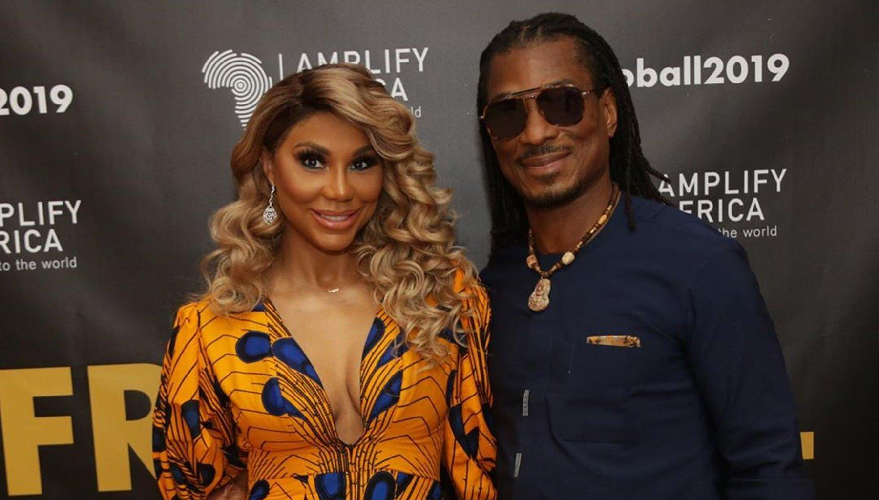 Tamar Braxton Posts Video Of Senator Physically Assaulting A Woman While The Police Watches And She Opens Up About Battered Females With David Adefeso's Help