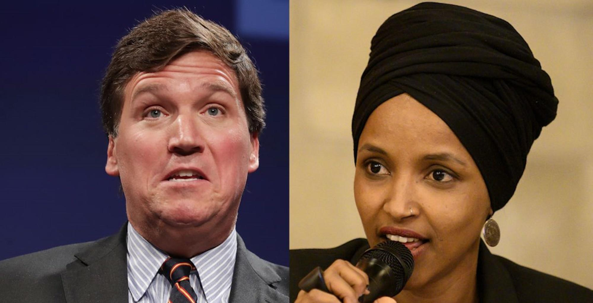 Tucker Carlson Takes His Fight With Ilhan Omar Fight To The Point Of No Return By Claiming She Is Dangerous