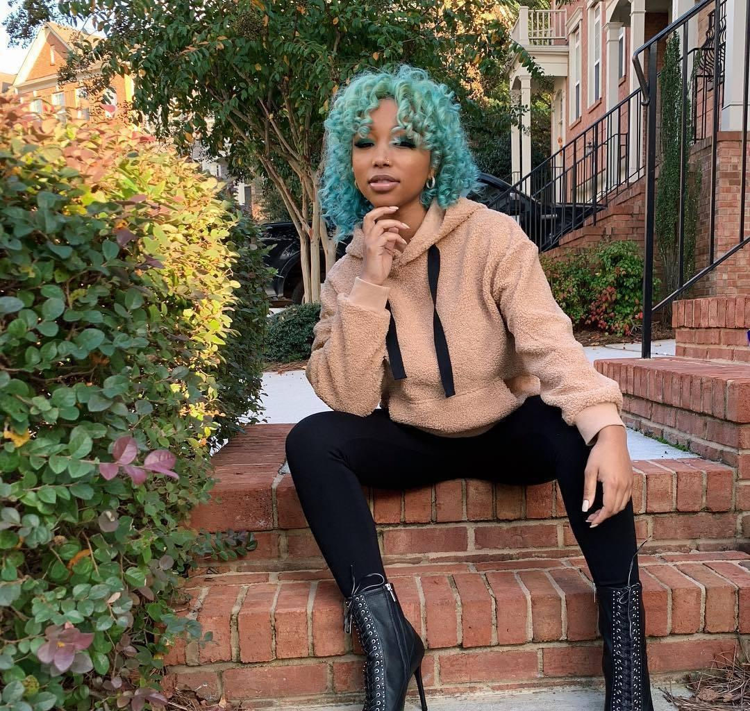 Tiny Harris' Daughter, Zonnique Pullins Shows Off Her First Shades With Prescription - She's Beyond Excited