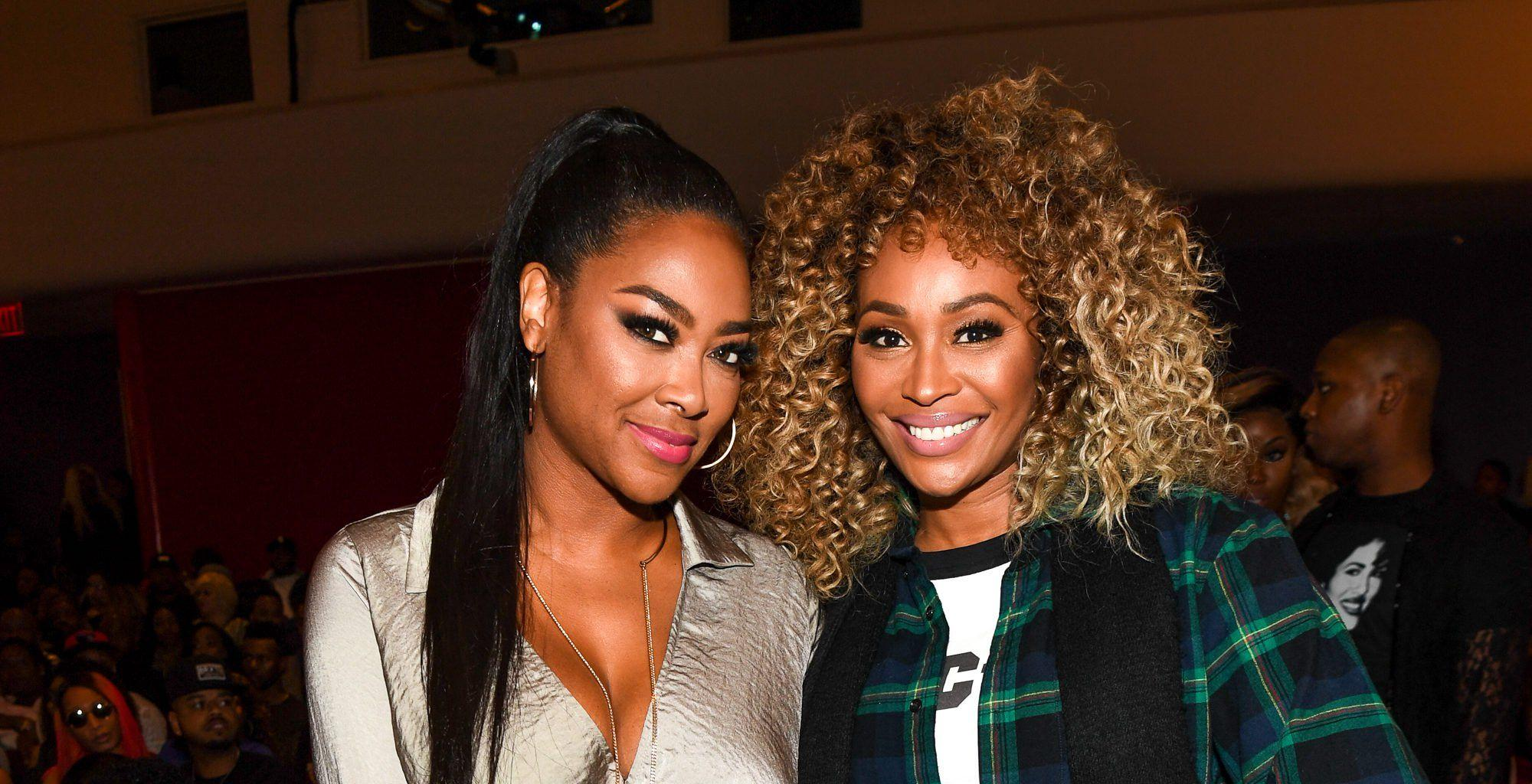 Kenya Moore And Cynthia Bailey Are 'Chocolate Sisters' In This Latest Photo