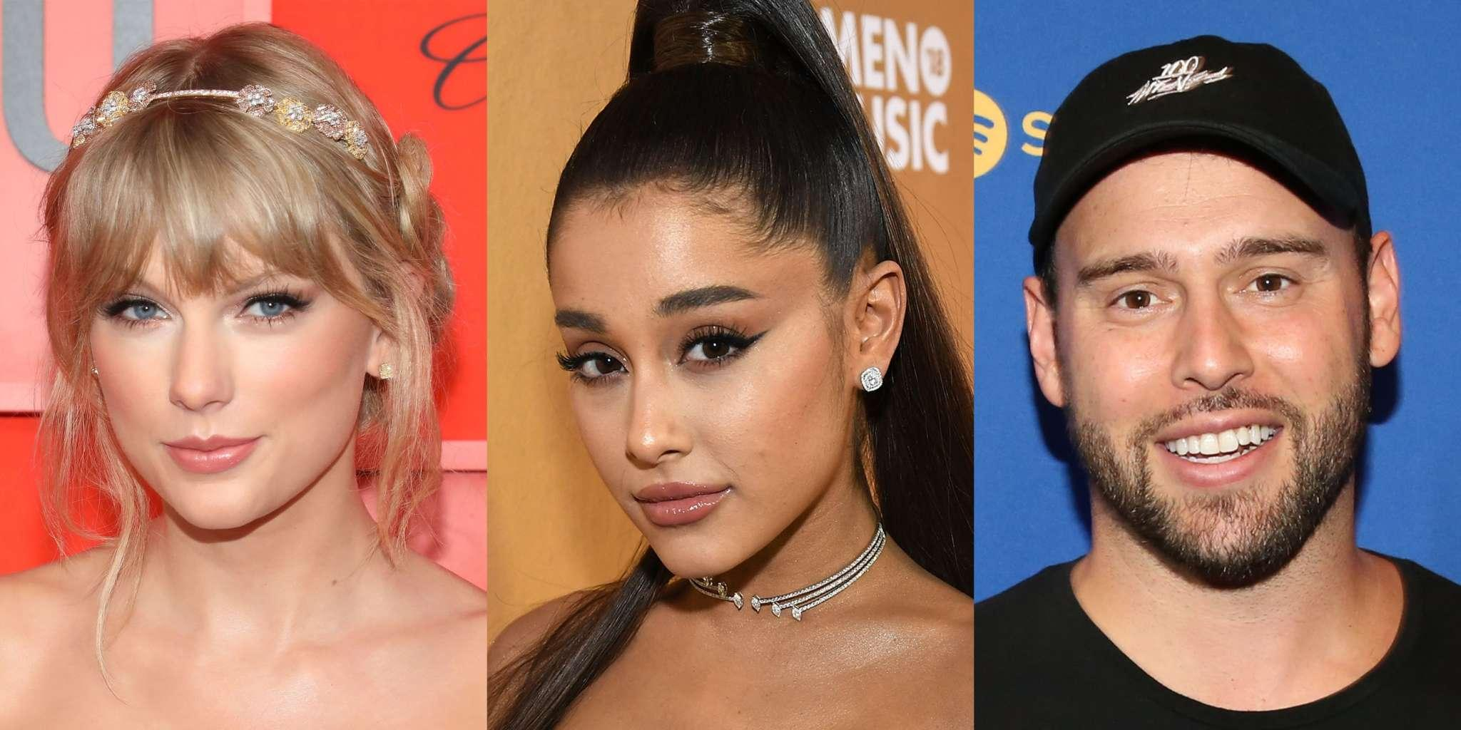 Ariana Grande Shows Taylor Swift Love And Support Amid Her Scooter Braun Drama