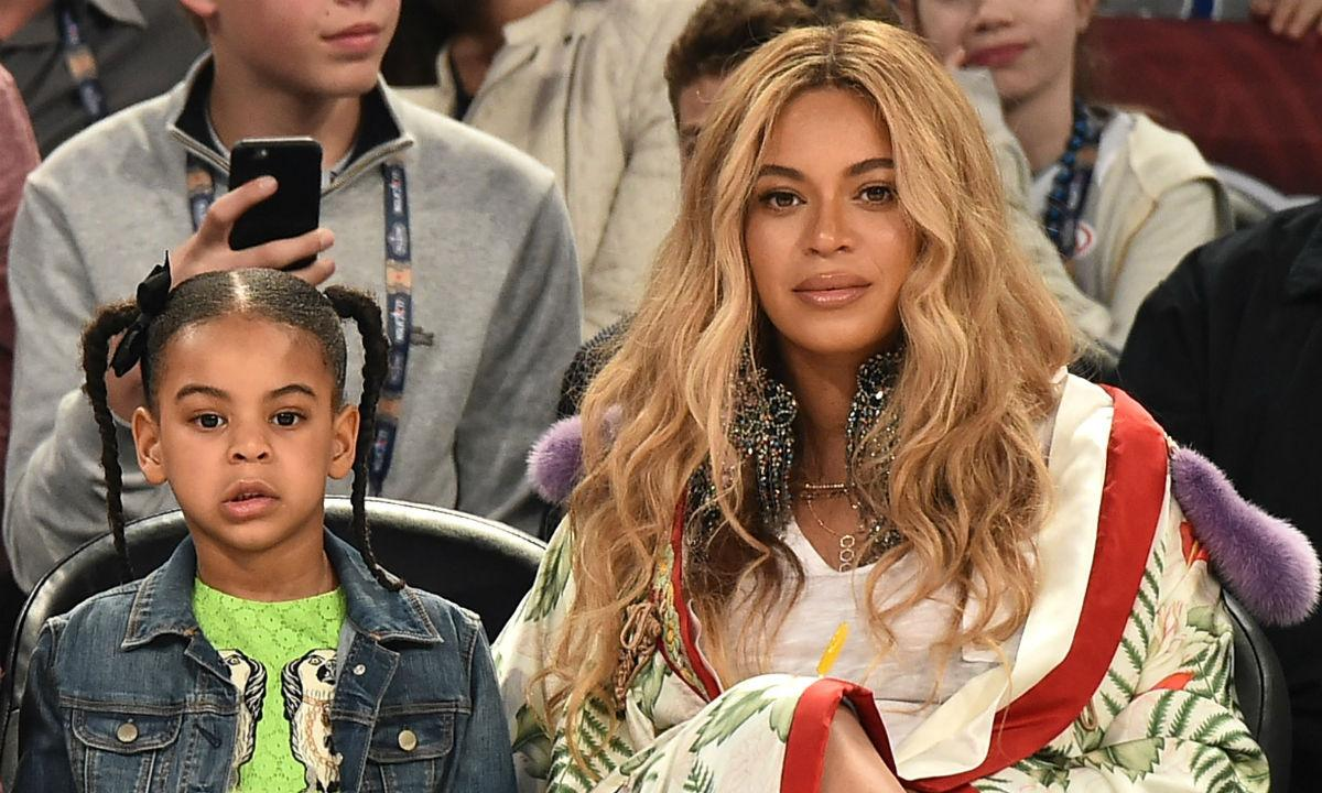 Beyonce's Daughter Blue Ivy Steals The Show With Collab Song On Her Mother's New Album!