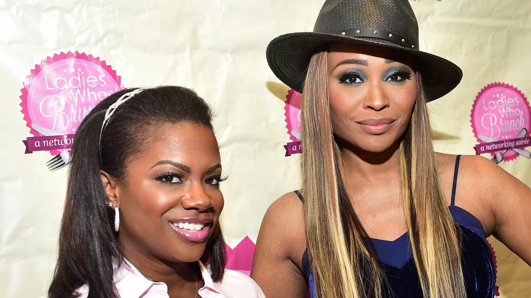 Kandi Burruss Is Trying To Catch Some Glow From Happy Cynthia Bailey