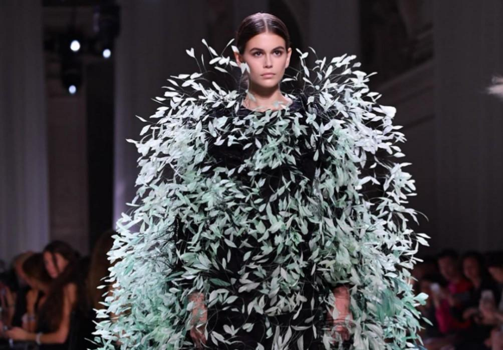 Kaia Gerber Astounds In Back-To-Back Runway Shows For Fendi, Valentino, Givenchy, Chanel, And Miu Miu