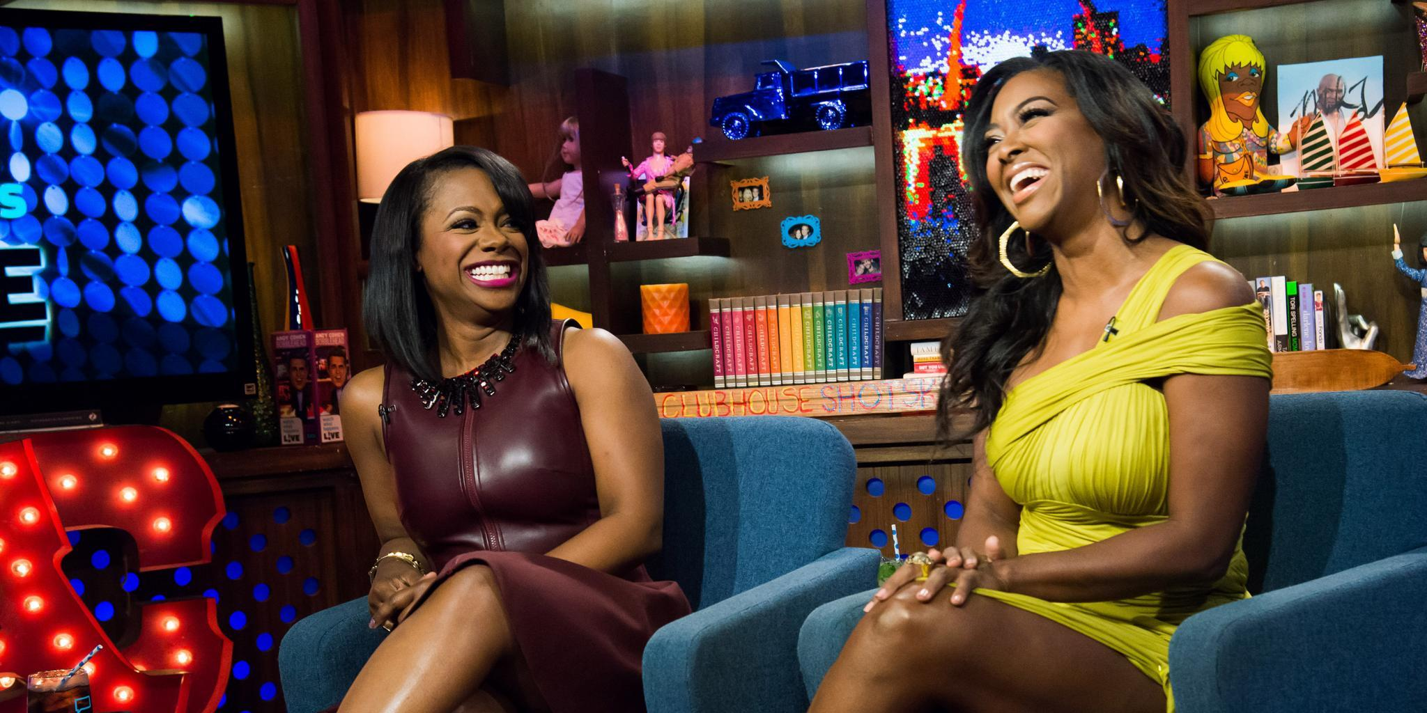 Kenya Moore Is Grateful To Kandi Burruss For Her Gift For Baby Brooklyn