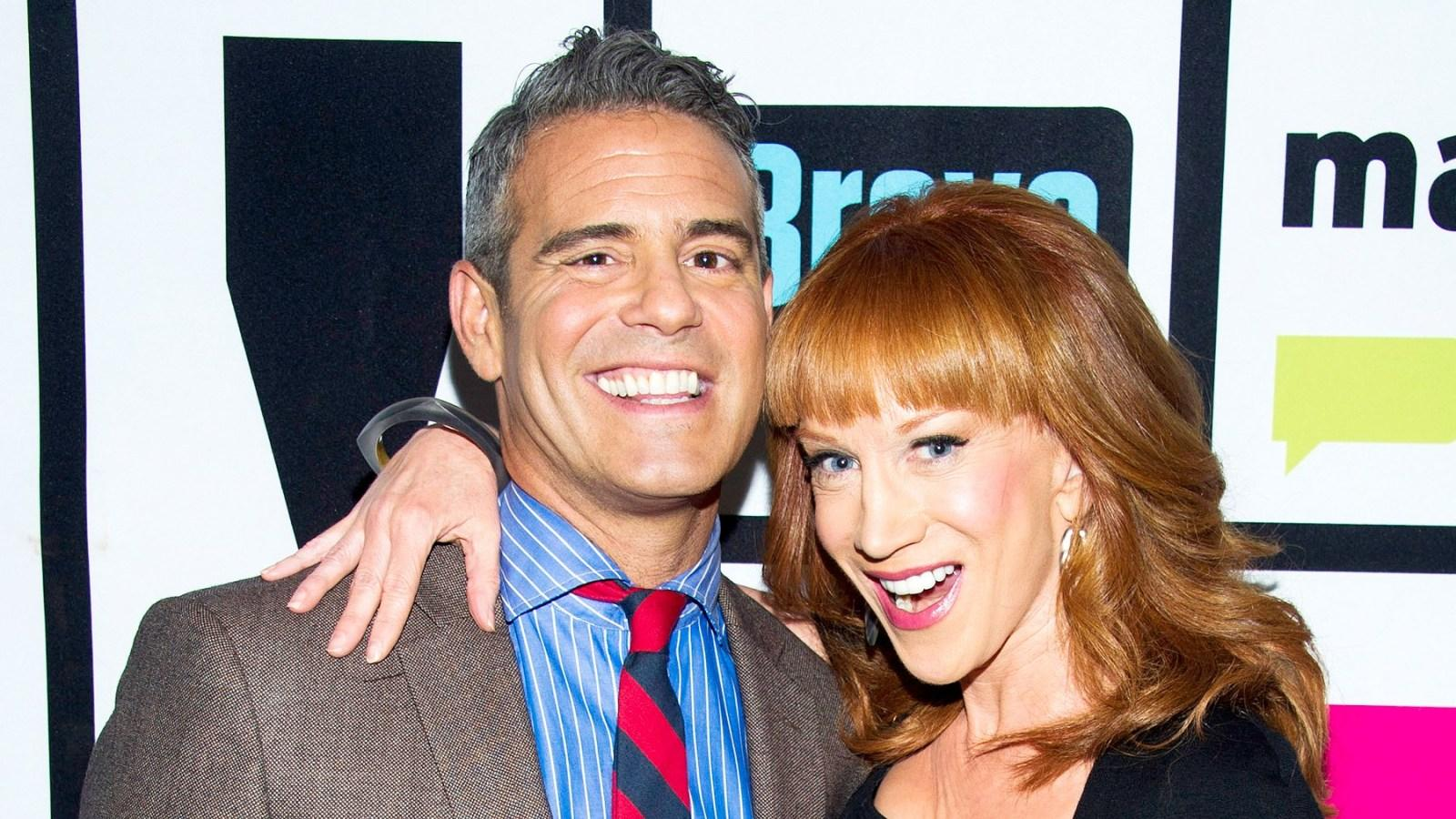 Kathy Griffin Drags Former 'Worst Boss' Andy Cohen, Claims He Treated Her Like A 'Dog!'