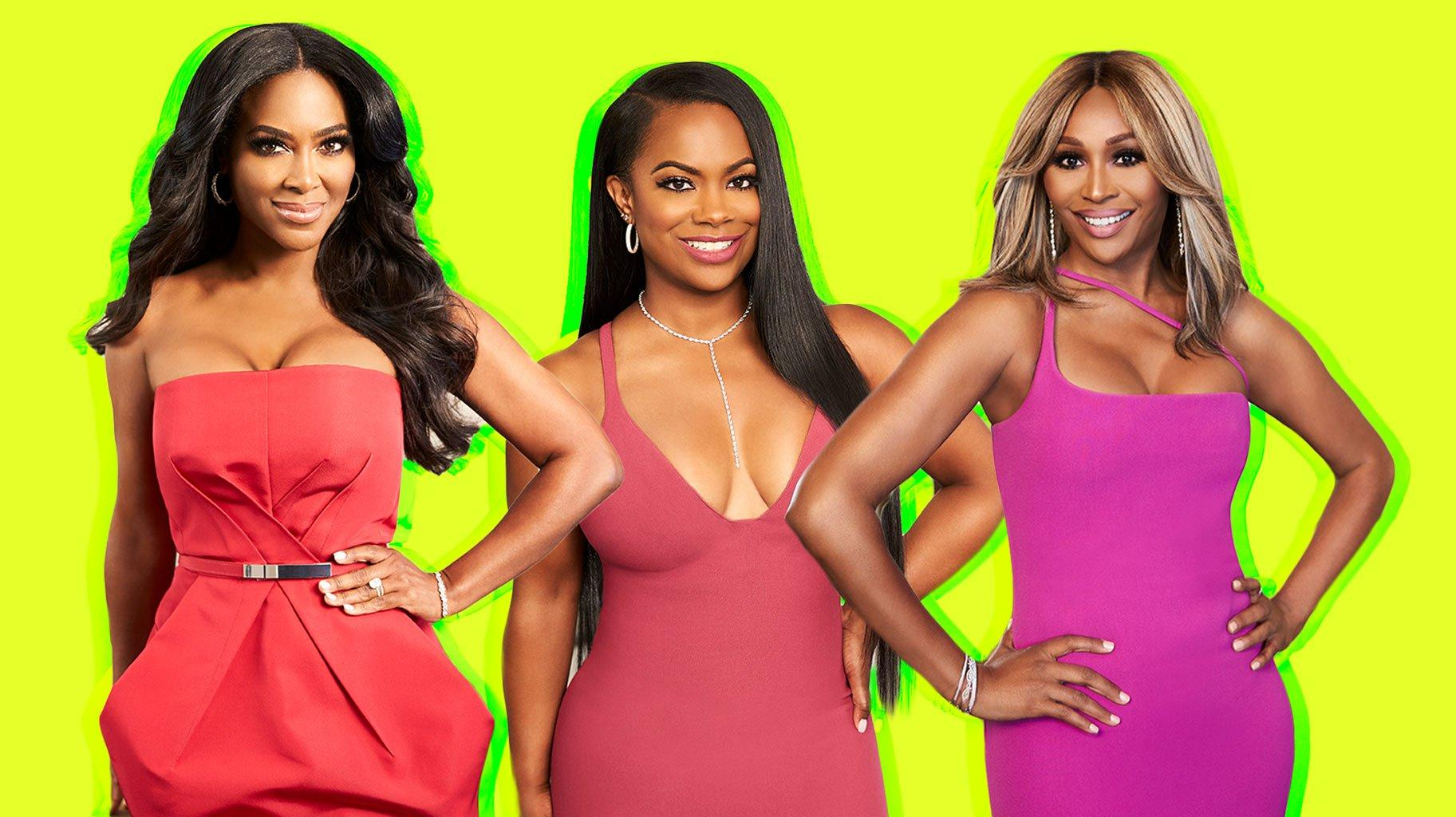 Kenya Moore Poses With Kandi Burruss And Cynthia Bailey And Fans Call Them Boss Ladies