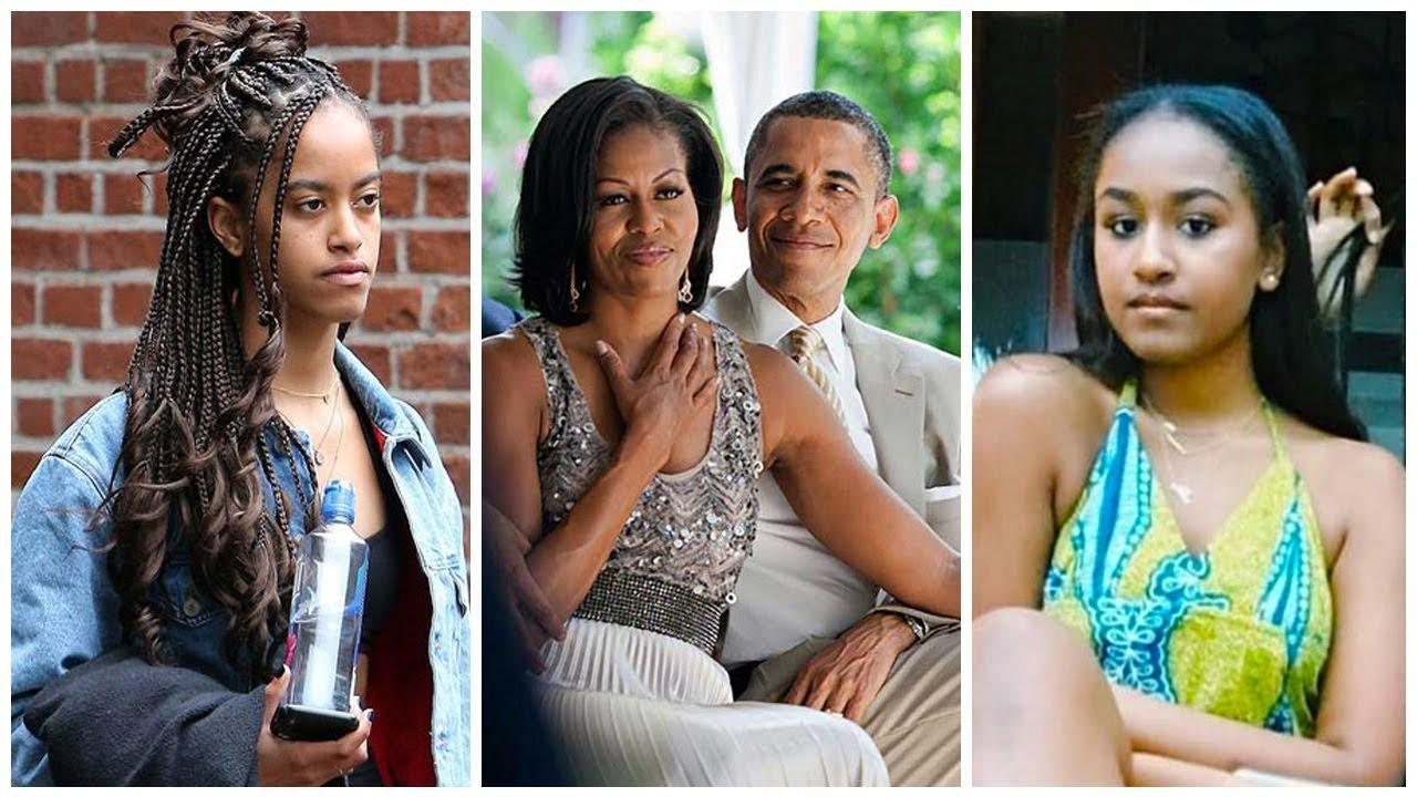 Michelle Obama Says Daughters Sasha And Malia Experienced Their First Kisses At The White House With Bodyguards Around