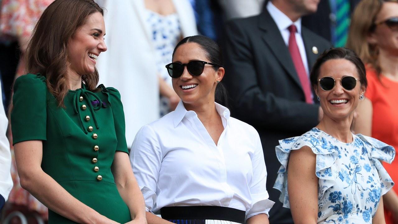 Meghan Markle And Kate Middleton Look Super Close At Wimbledon Amid Feud Speculations