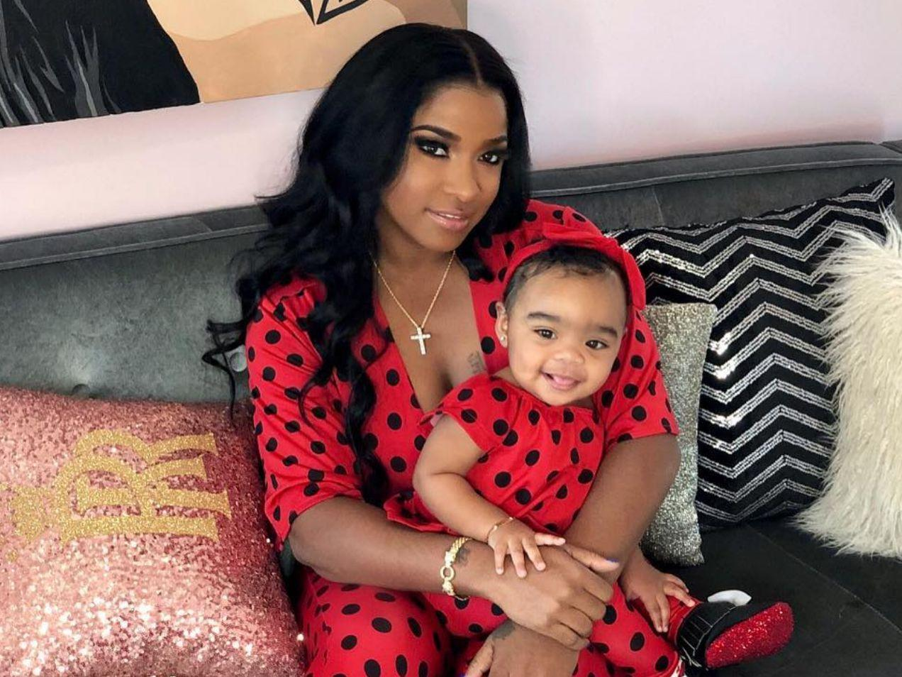 Toya Wright Poses With Her Baby Girl Reign Rushing And Fans Are Here For It