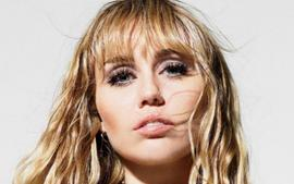 Miley Cyrus Glitters In Celine As She Covers Elle US For August