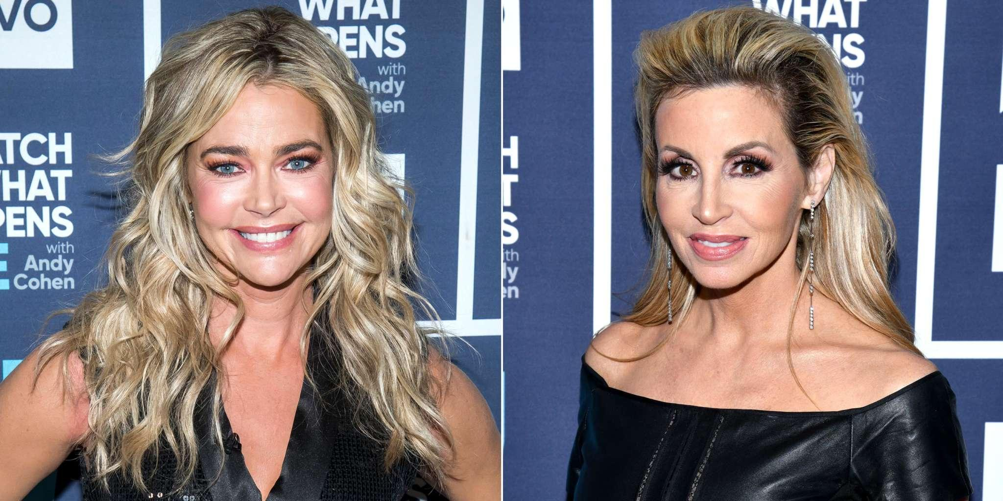 Camille Grammer Reportedly Thinks RHOBH Co-Star Denise Richards Was 'Out Of Line' For Slamming Her