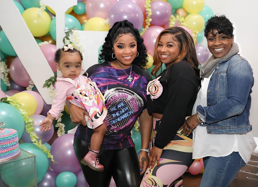 Toya Wright Proclaims Her Love For Ms. Nita - Fans Say She Got Her Pose From Her Mom
