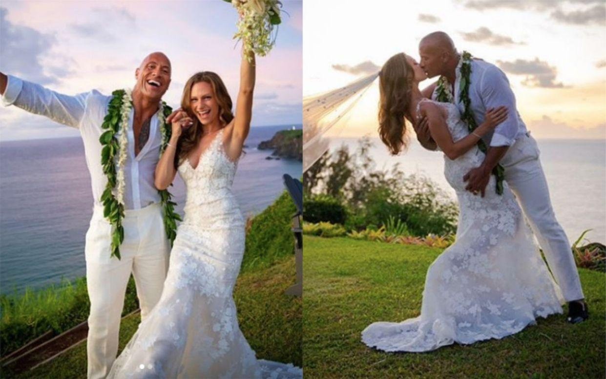 The Rock Secretly Gets Married To Lauren Hashian In Hawaii - See The Gorgeous Photos