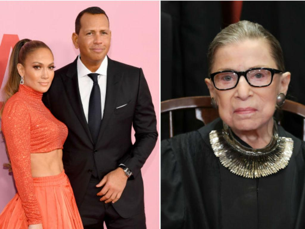 Alex Rodriguez And Jennifer Lopez Asked Ruth Bader Ginsburg Her Advice For A Happy Marriage
