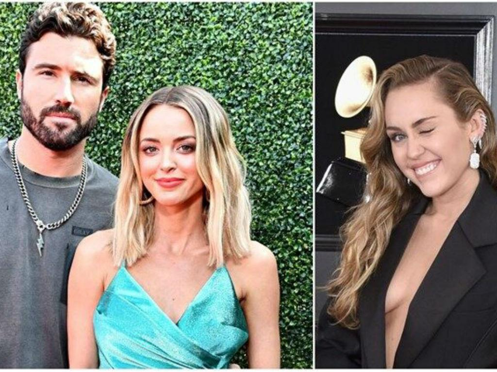 Brody Jenner Weighs In On Ex Kaitlynn Carter And Miley Cyrus Kissing Photos – Singer Drags Him For Remarks