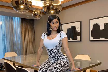 Cardi B Takes On The Haters Laughing At Pregnant Yung Miami After She Was Attacked On Her Way Out Of A Recording Studio