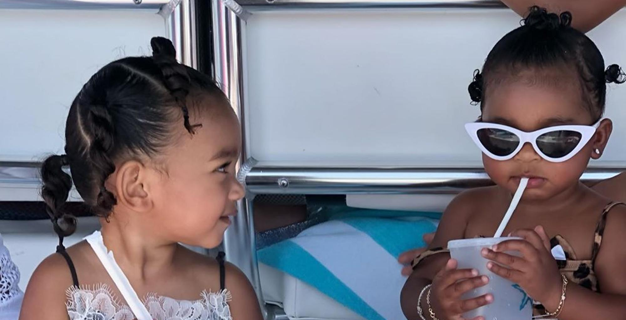 Khloé Kardashian Claps Back At Fans Who Called Her Out For Using Photos Of Babies True Thompson and Chicago West To Promote 'Toxic Diet Culture'