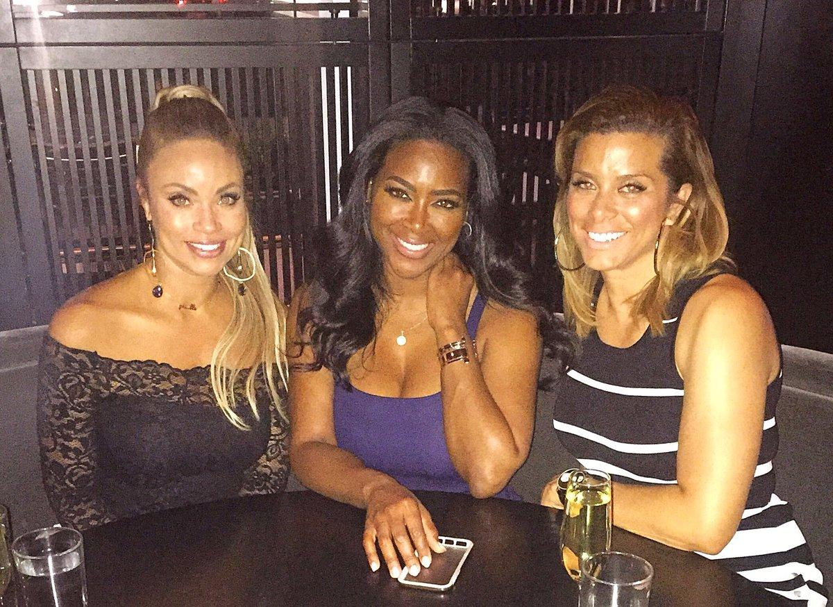 Kenya Moore Links Up With Gizelle Bryant - Some Would Like The Blonde Beauty To Replace NeNe Leakes On RHOA