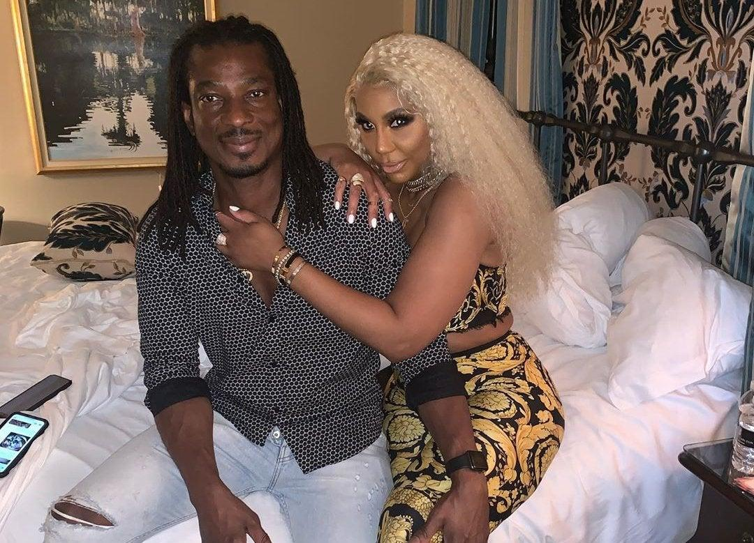 Tamar Braxton's BF, David Adefeso Shares A New Video Featuring Tamar While They Are Partying With Friends