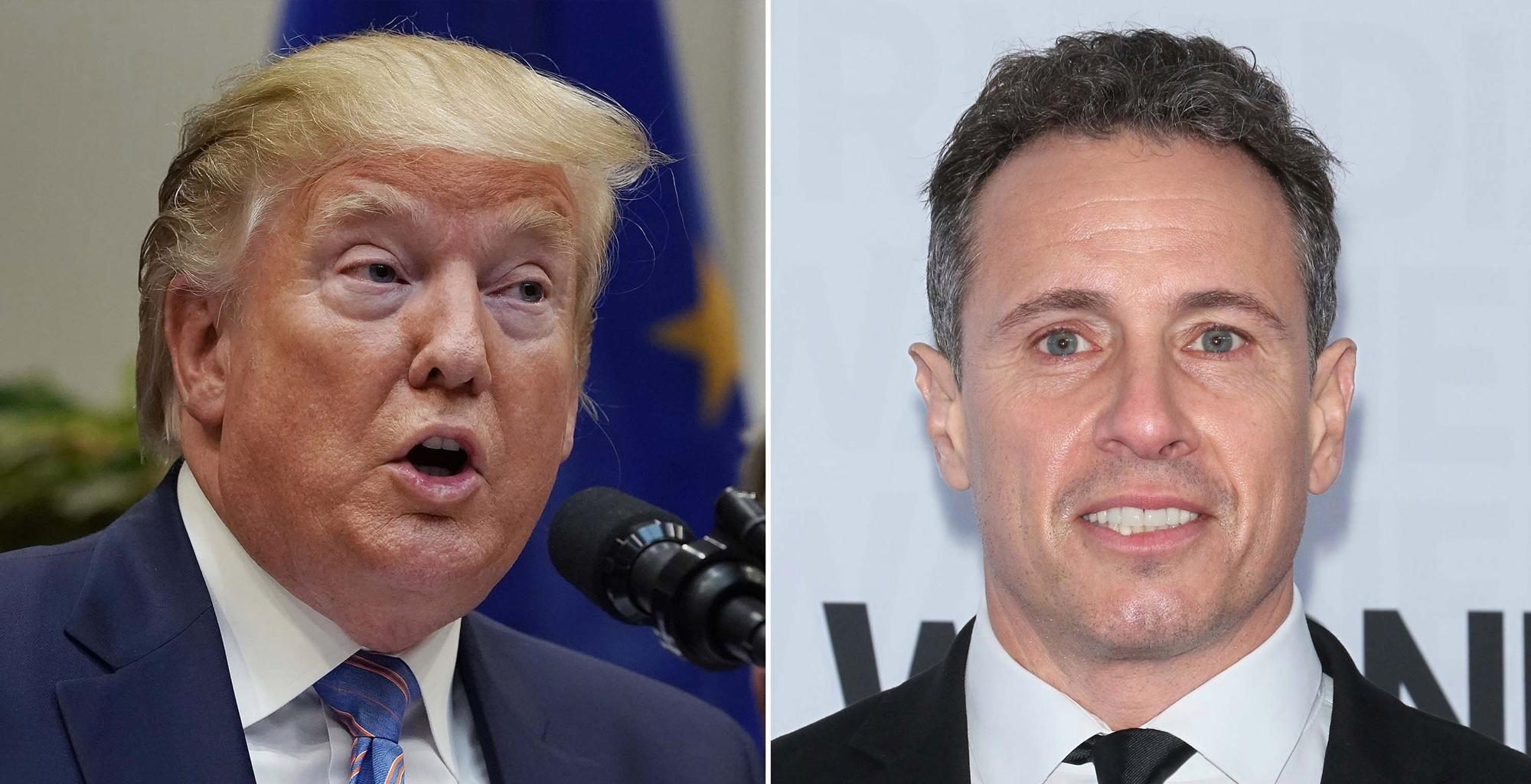 Donald Trump Has A Few Harsh Words For CNN's Chris Cuomo Swearing At A Man Who Called Him Fredo In Insane Video