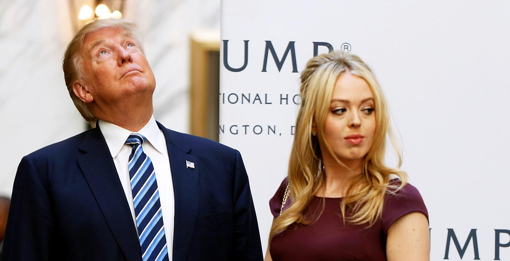 Donald Trump Denies He Hates Taking Pics With Daughter Tiffany Because She Is Overweight!