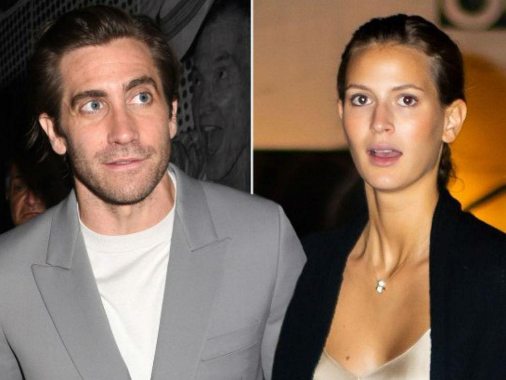 Jake Gyllenhaal And Girlfriend Jeanne Cadieu New Romance Heats Up Model Supports Him At Broadway Opening