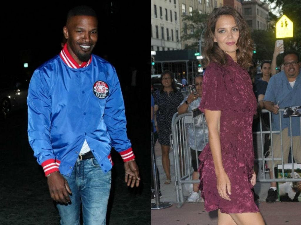 Jamie Foxx Spotted With Mystery Woman – Did He And Katie Holmes Split?