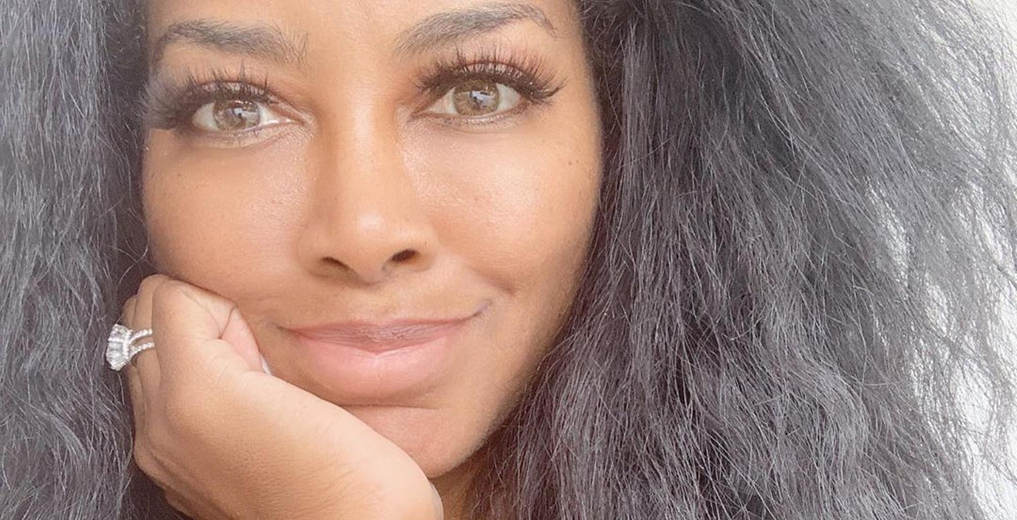 Kenya Moore Sets The Internet Ablaze With Photo Of Her Hard Abs