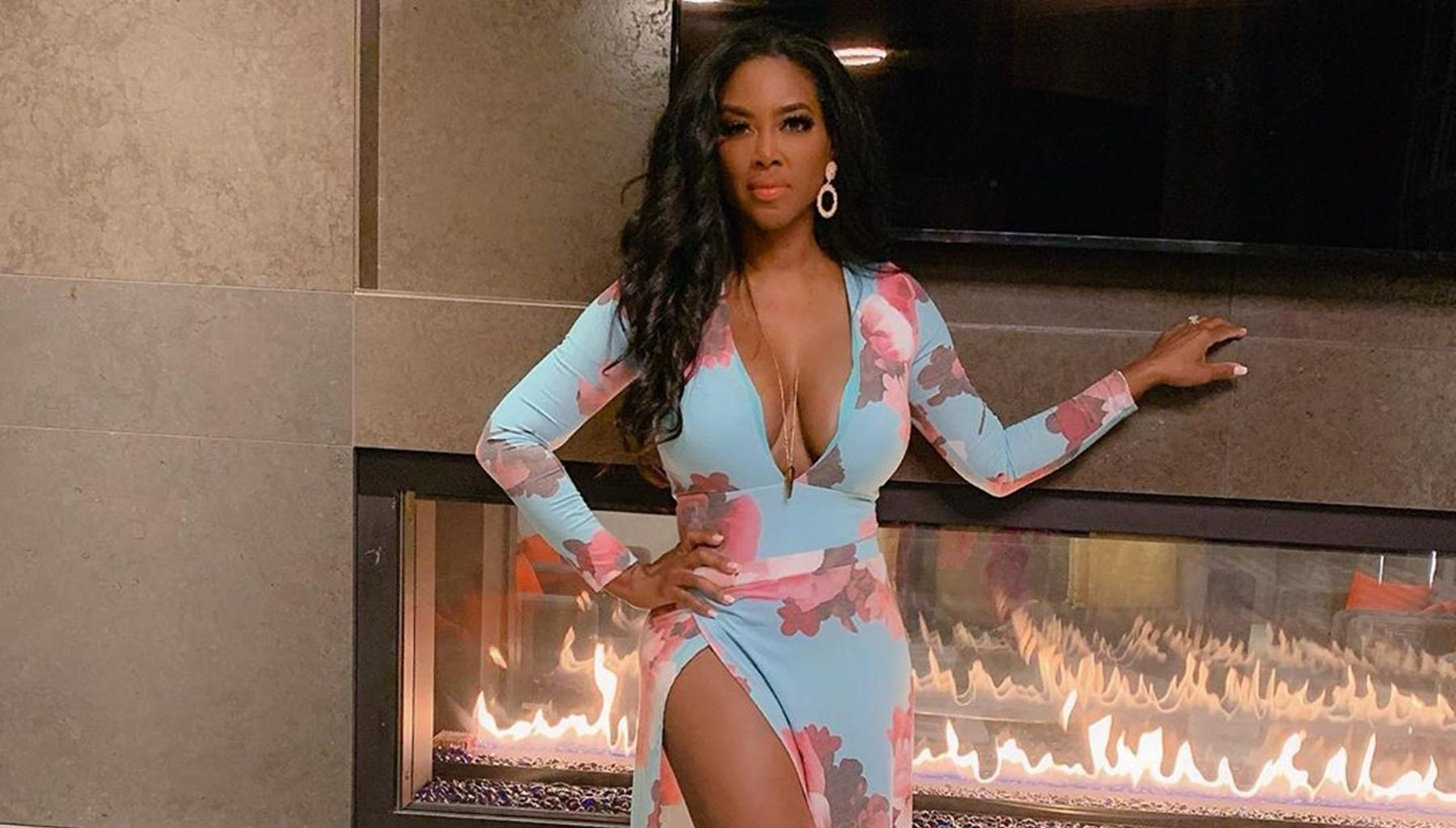 Kenya Moore Shares Sweet Picture With Husband Marc Daly -- Will He Appear On 'RHOA'?