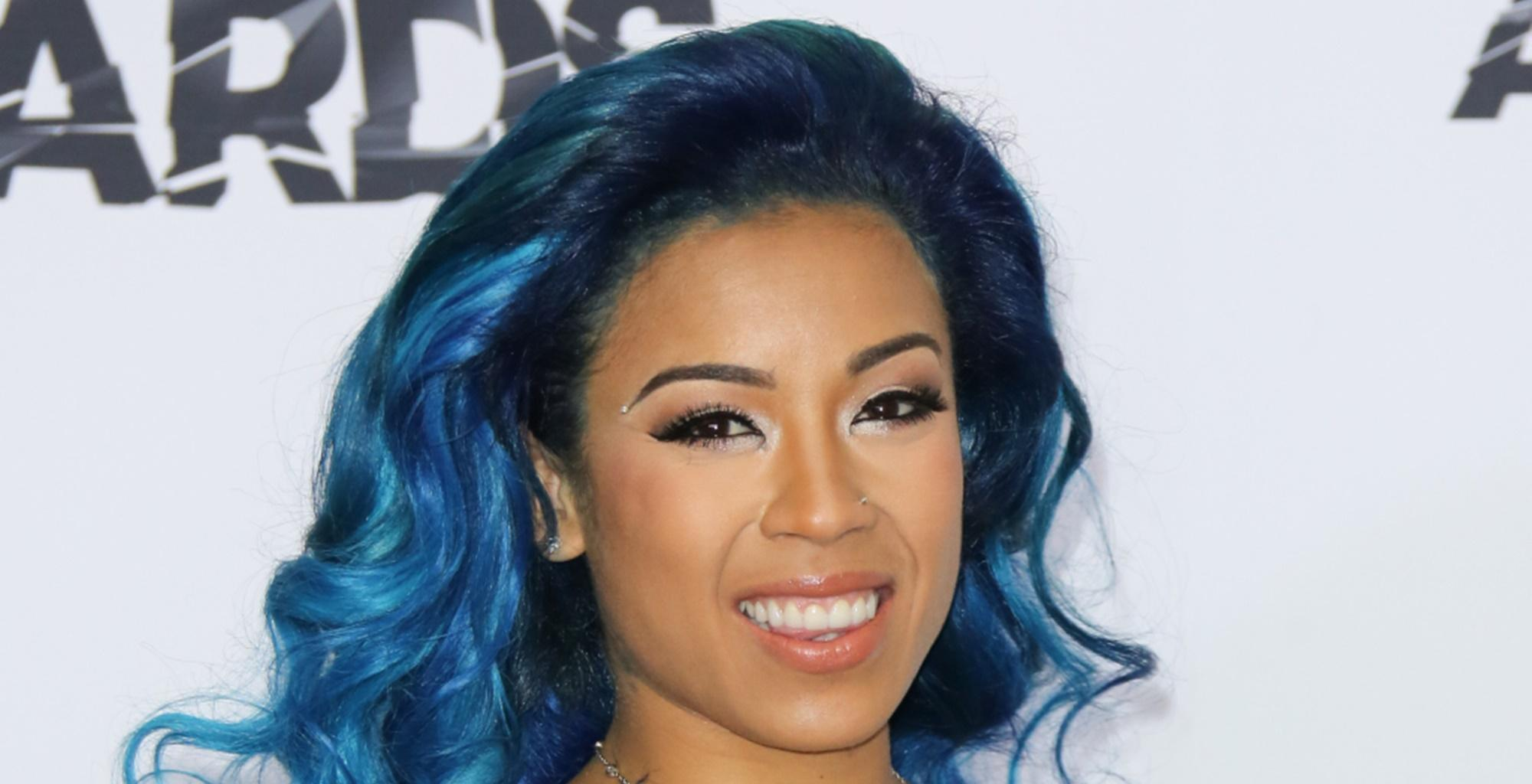 Keyshia Cole Returns To Social Media After Giving Birth To Her Second Child, To Share This Breathtaking Picture -- Fans Say Niko Khale's Lady Looks Stunning