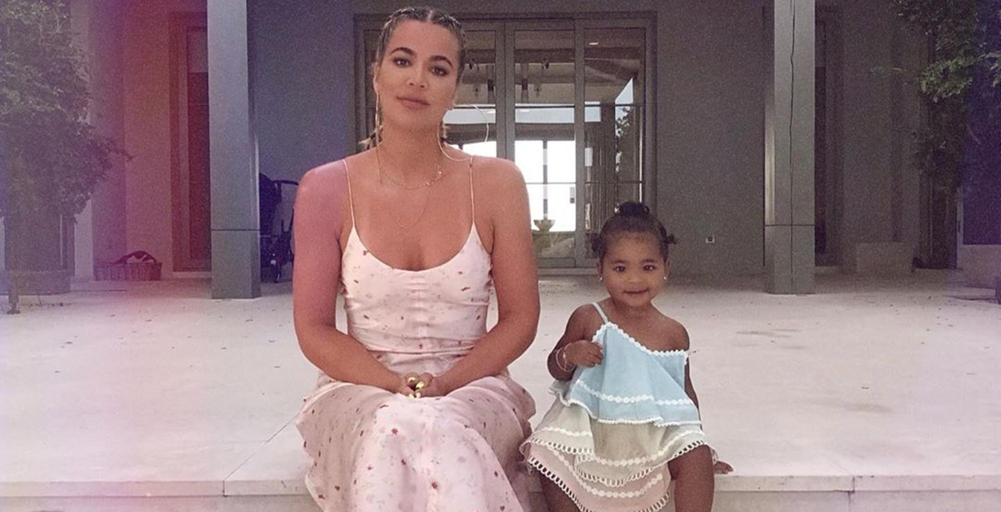 Khloe Kardashian Claps Back At Troll Who Made This Comment About Baby True Thompson's Pictures -- Did She Strike The Right Note?