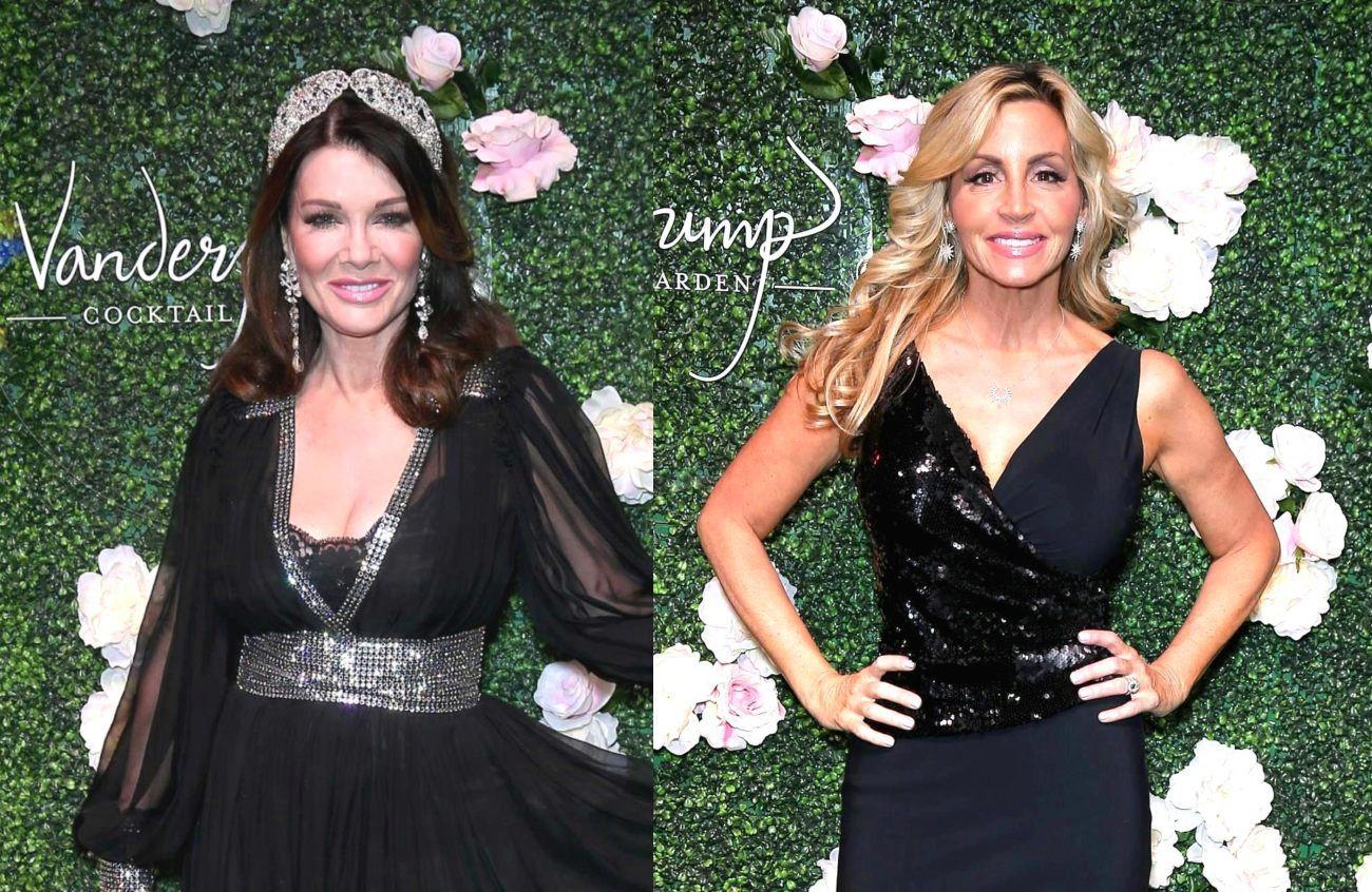 Camille Grammer Calls Her RHOBH Co-Stars 'Trash' - Says Lisa Vanderpump Is A 'Class Act'