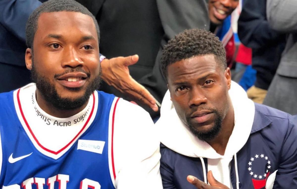 Kevin Hart And Meek Mill Are 'Super Close' Despite Shady Exchange Online - There's No Beef!