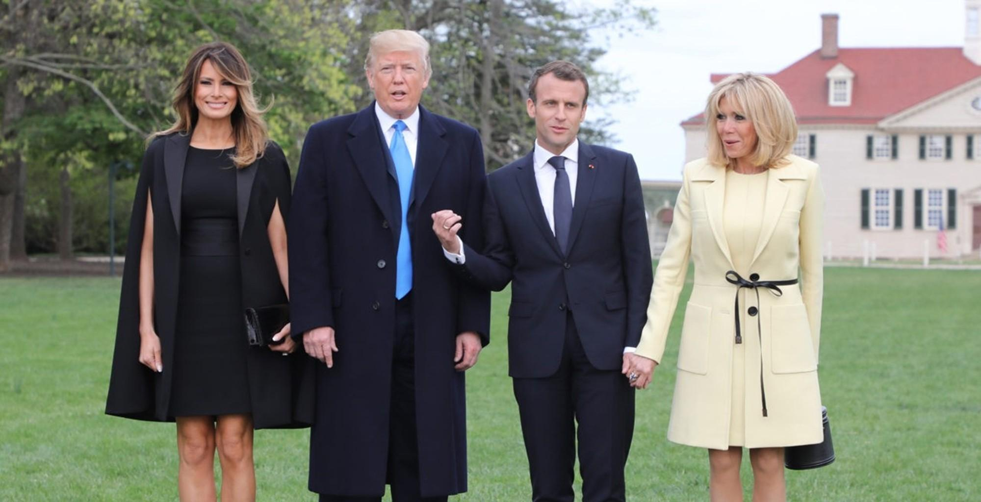Emmanuel Macron Slams Brazilian President Jair Bolsonaro For Posting Sexist Picture Of Wife Brigitte Macron As The Pair Feuds Over The Amazon Forest Fires