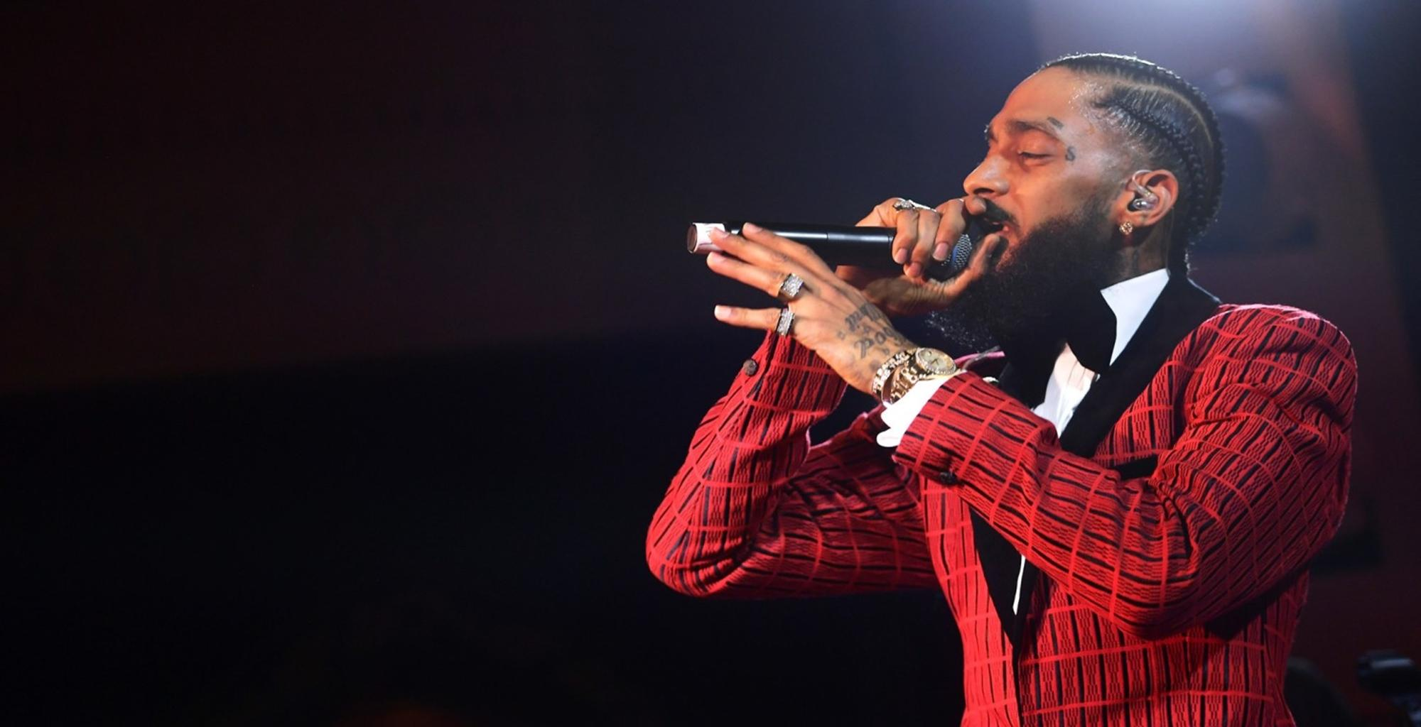 Nipsey Hussle's Birthday Celebration Forces LAPD And The Marathon Store To React As Lauren London Continues To Honor Him