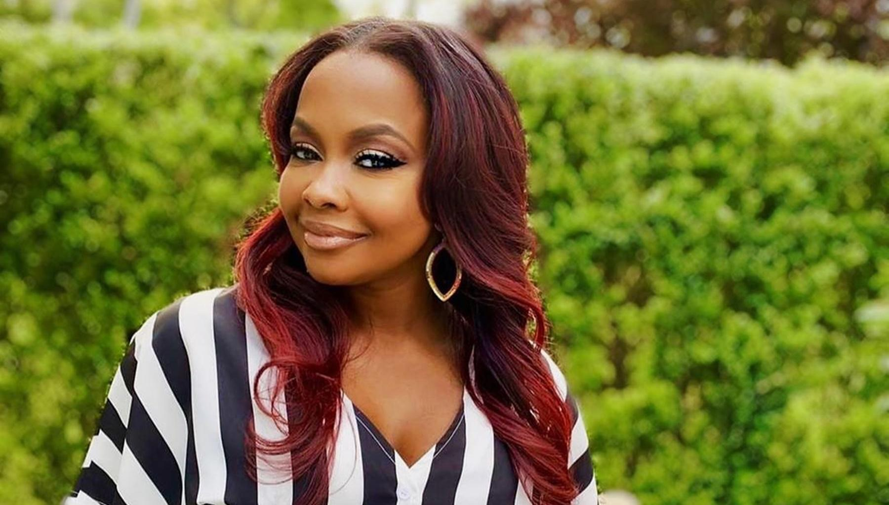 Phaedra Parks Shares Revealing Bathing Suit Photo And Is Unbothered By Wild Accusations Made By Ex-Husband Apollo Nida And Peter Thomas