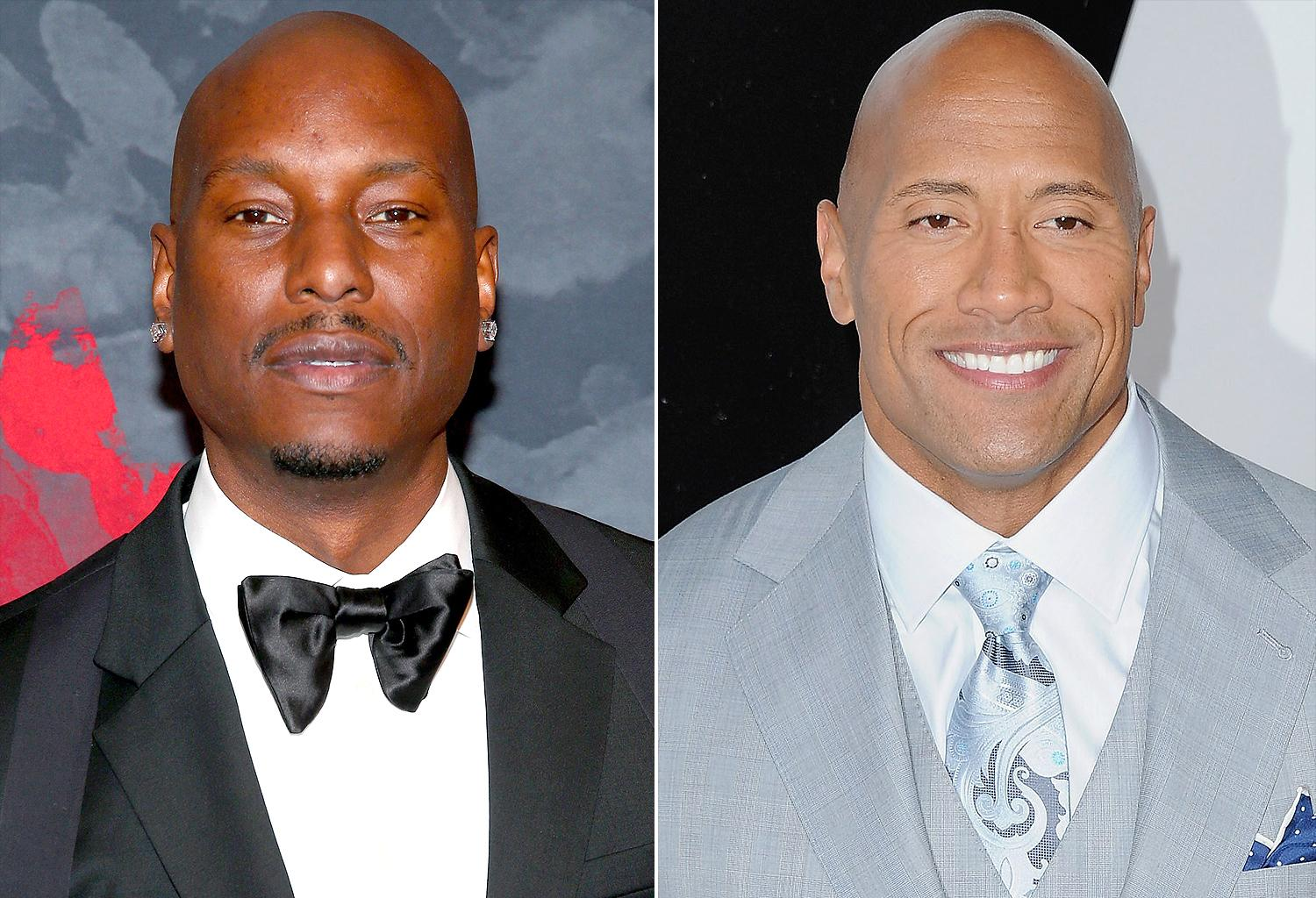 The Rock Responds To Tyrese's Hobbs And Shaw Shade In The Best Way