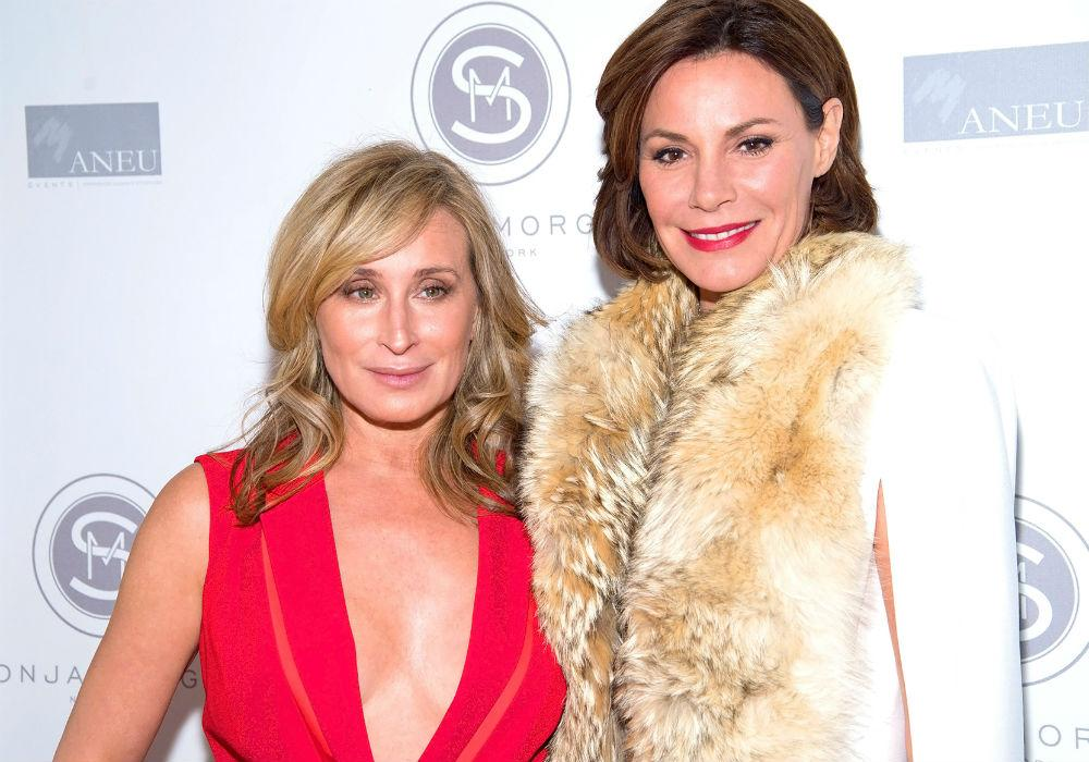 Sonja Morgan Slams LuAnn De Lesseps For Treating Her 'Like Crap' At The RHONY Reunion