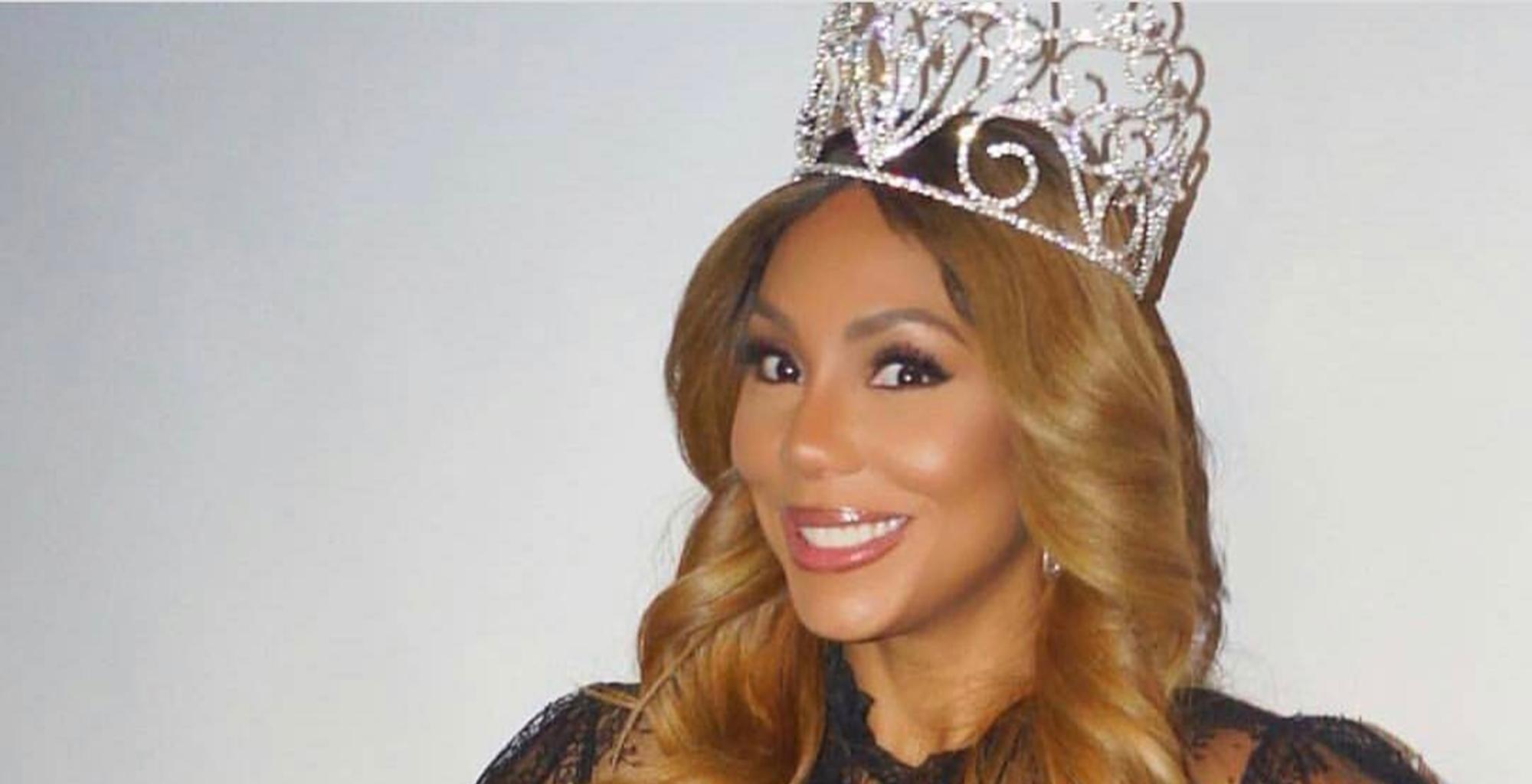 Tamar Braxton's Latest Picture Confirms That She Is Having A Hot Girl Summer And Tiny Harris Approves, BF David Adefeso Not So Much