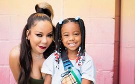 Tiny Harris And T.I. Gush Over Heiress Harris And Laiyah Brown - See These Cute Ladies Together