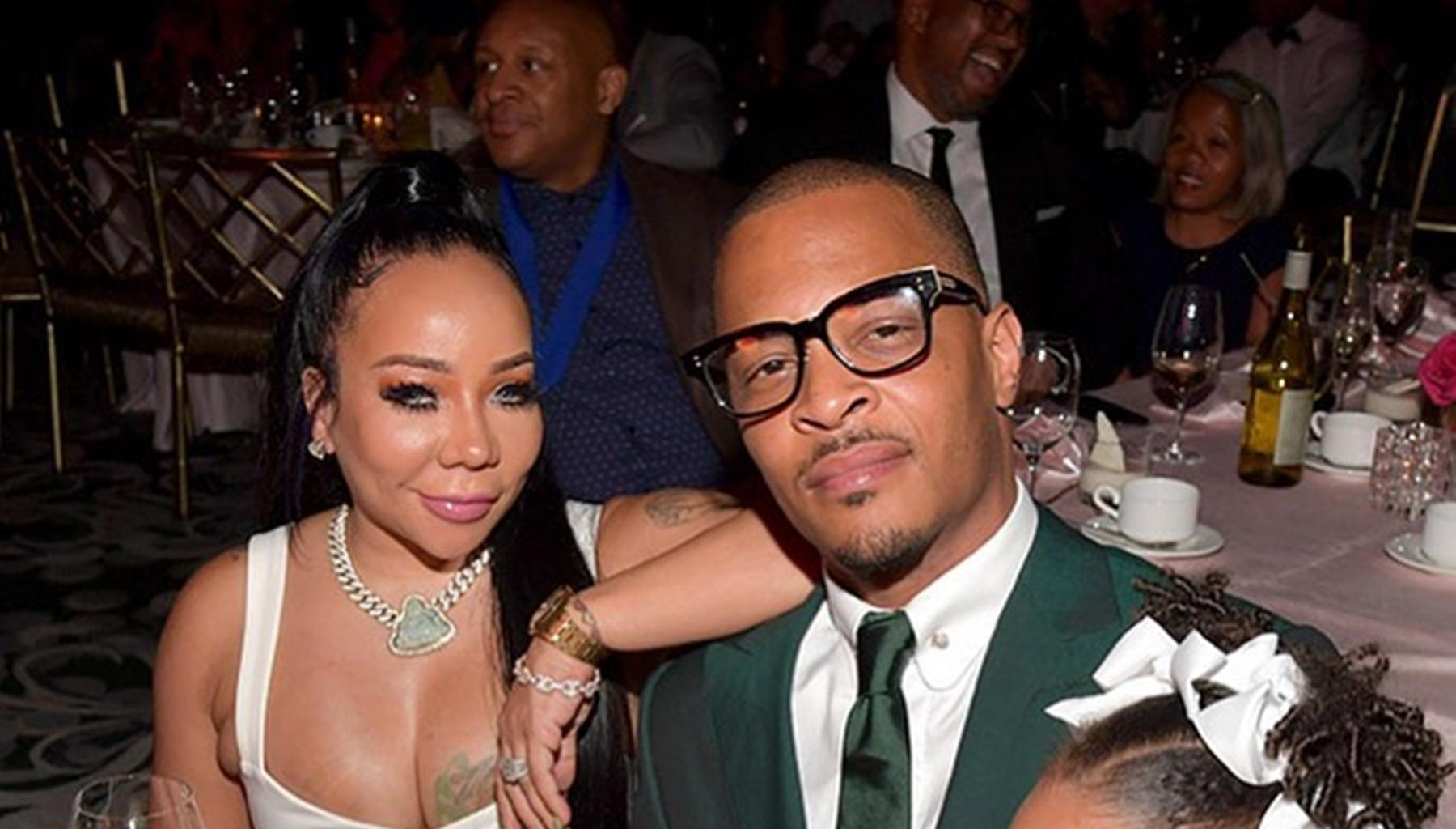 T.I. Explains What He Is Busy Doing With Tiny Harris Via Lovey-Dovey Pictures, But Something Else Caught Fans' Attention