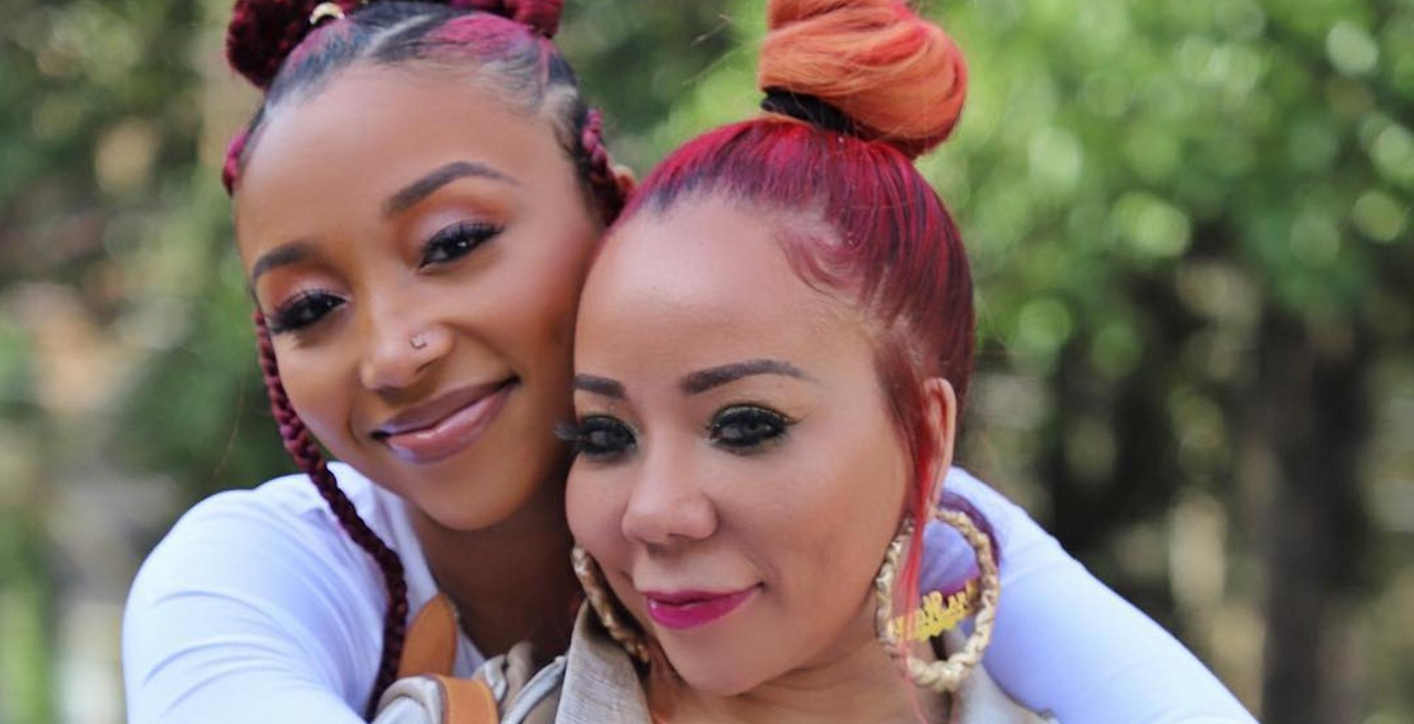 Tiny Harris And Zonnique Pullins Have The Sweetest Fight Over Dianne Cottle-Pope With Never-Before-Seen Photo Tribute -- But King And Heiress Come Out As The Real Winners