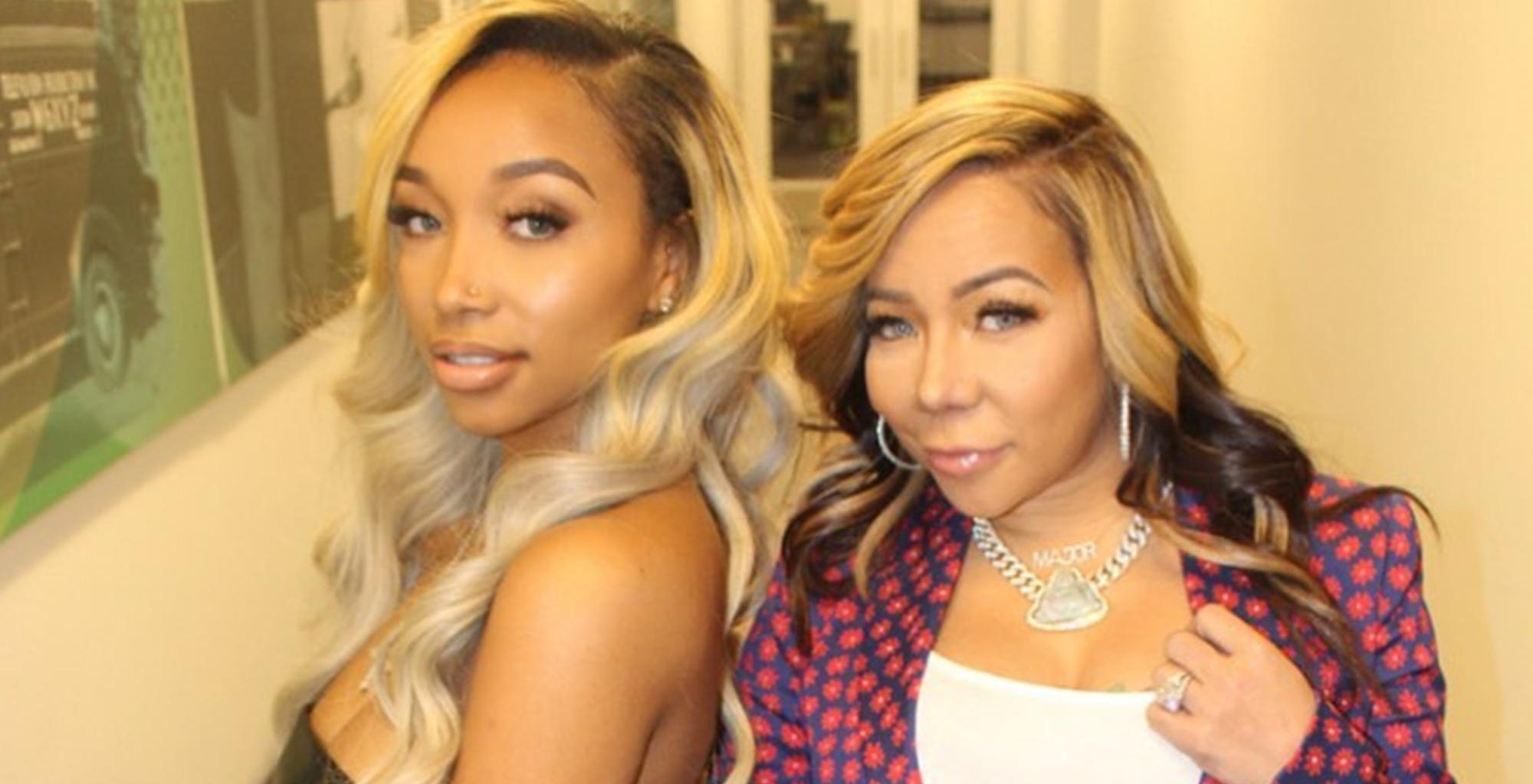 Tiny Harris And Zonnique Pullins Explain Why King Harris Is Special Like Dad T.I. In Sweet Picture Birthday Tributes