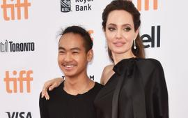 Angelina Jolie Gets Emotional While Dropping Maddox At College In Korea - See The Vid!